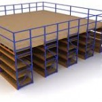 racking based mezzanine floor